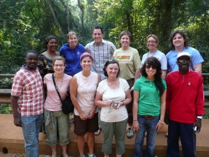 The Golbal Family Rescue team we traved with in Western Uganda.