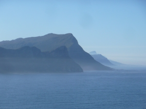 Near the Cape of Good Hope.