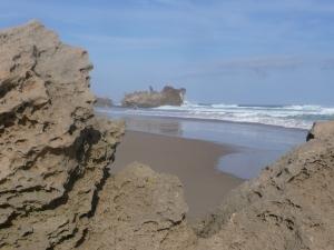 Indian ocean beach near Knysna.